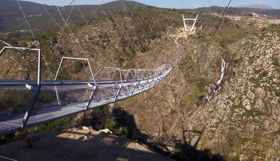 Maior Ponte Pedonal Suspensa do Mundo fica em Arouca